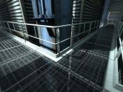 Portal 2 beta catwalks Skin screenshot