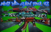 Ak 47 HD cs go Skin pack V2 Skin screenshot