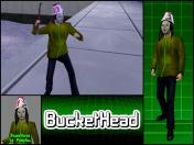 BucketHead Skin screenshot