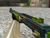 XM1014 Brickpiece to Default CS1.6 Animation Skin screenshot