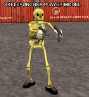 Skelepuncher Playermodel Skin screenshot