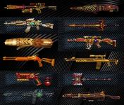Master, Trasendence and CSOWC Weapons With Tattoo Skin screenshot