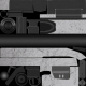 White M40A3 Skin screenshot