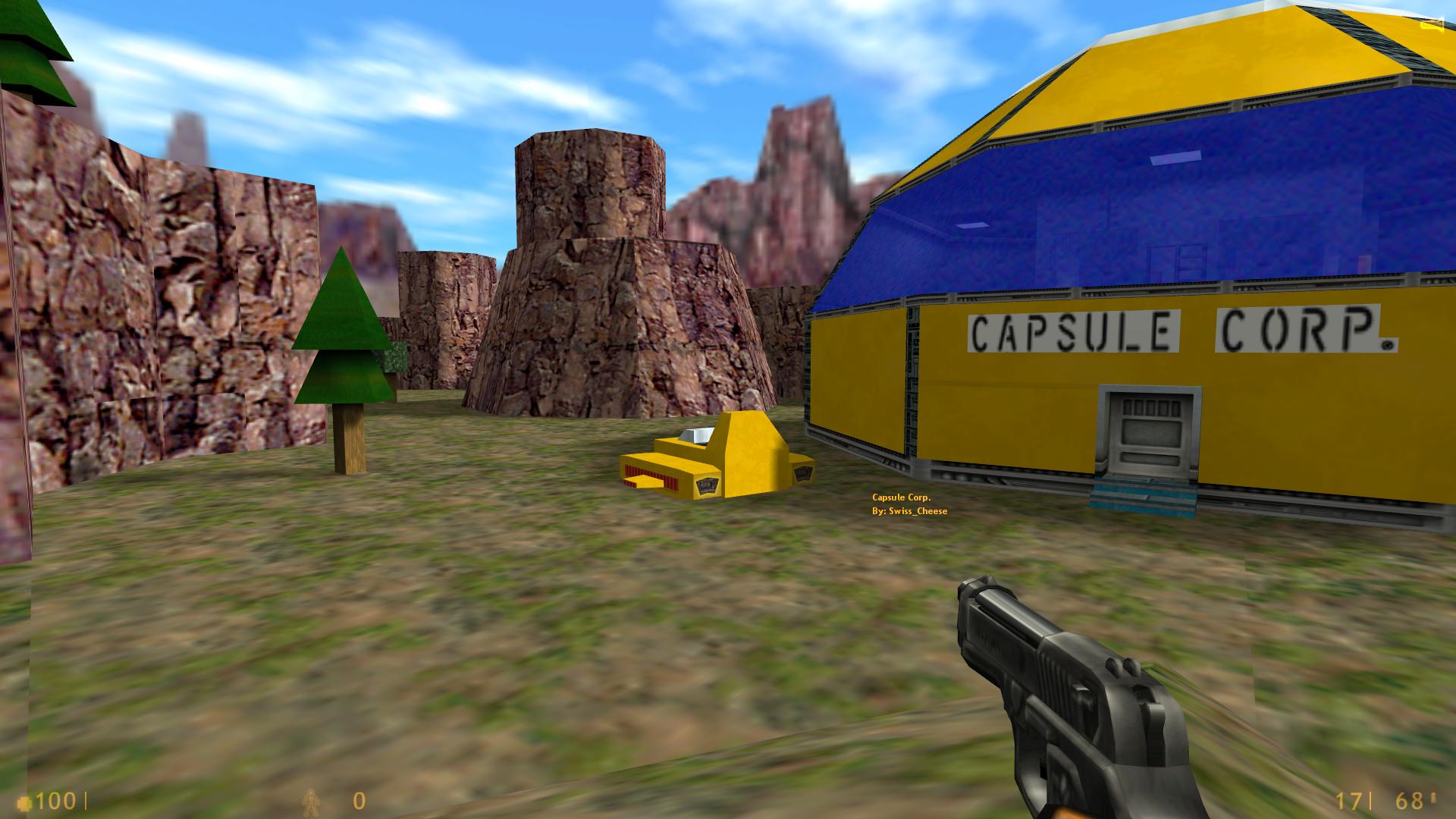 Карта dbz_capsule