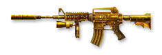 CSO M4A1 Gold