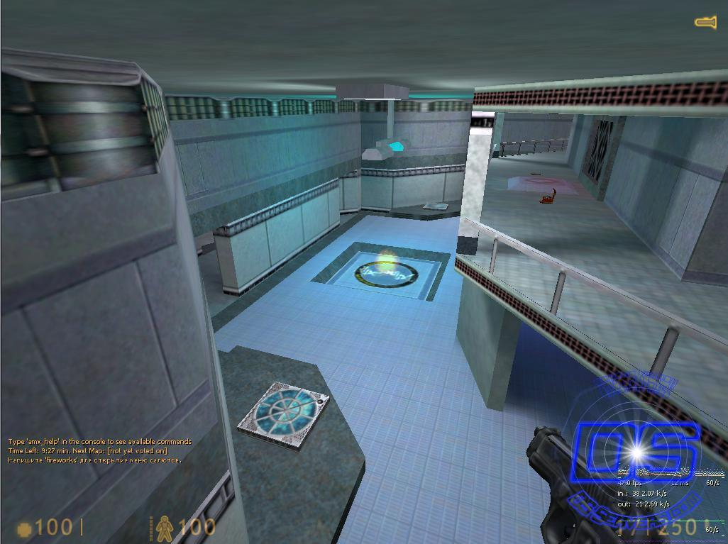 Карта deathlab
